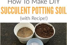 Potting soil mixture