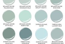 Colours for painting walls