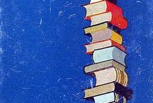 I read past my bedtime.  / Books and more books. Reading is fundamental...and very enjoyable.  / by E. Joey