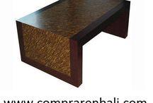 mesa de marqueteria de coconut. / mesa de marqueteria de coconut.
