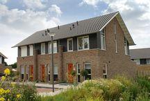 Goldewijk rijwoningen / Goldewijk ontwerpt en bouwt sinds 1855 stijlvolle woningen, luxe vrijstaande huizen, tweekappers en rijwoningen door heel Nederland.