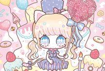 Kawaii pastel