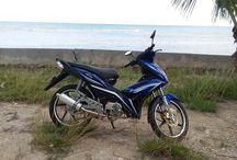 Rent a motorbike in oslob