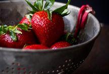 Strawberry Fields Forever { Strawberries } / by V i c k i ❥