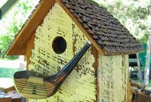 Birdhouse ideas / Birdhouse ideas to get your creative energy flowing
