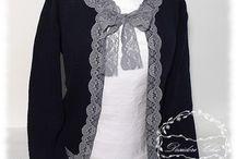 Maglione / #maglione, #desiderichic, #shabbychic, #maglioneshabbychic, #sweater, #shabbysweater, #restyling