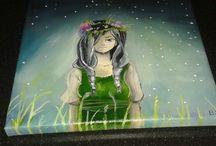 mijn schilderijen/tekeningen