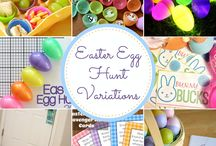 Easter egg party