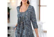 Projet de couture vêtements femme