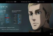 Attack on Titan X Until Dawn / Mini Board for AoTxUntil Dawn