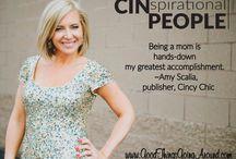 CINspirational People / A project of Cincinnati blog Good Things Going Around by Lisa Desatnik, CINspirational People will spotlight people in Greater Cincinnati and their inspiration.