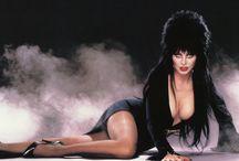 ELVIRA / #Pin-up #actrice de #cinéma #vampire #ténèbre