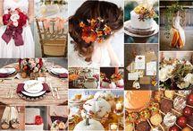 Jesienne Śluby / Wrzesień, październik a może listopad?  Ślub na jesieni też mają swój niepotarzalny urok