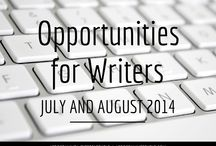 Writing Opps / Contests, Submissions, Conferences
