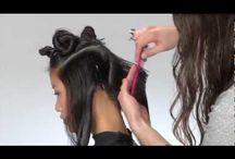 Haircutting Techniques. ✂️ / by Chrystal Ruiz