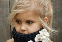 fitas de tricô  para  criança