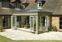 Summer Rooms - Orangeries and Oak Rooms / Ideas for back of house