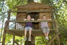 Eastons tree house / by Crystal Gambrell