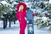 NCH-Kombez Women's down ski suits