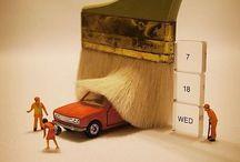 miniaturní auta