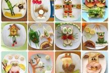 Repas Maison Pour Bébés Et Les Enfants/Homemade Foods For Babies And Children / by Julia Sallier