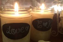 Wedding Soy Candles / A selection of styles available for complete customization to suit your theme...