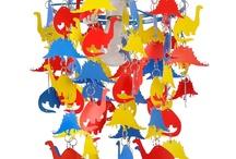 Dinosaurs for Julius / Dinosaurs for my grandson...