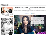 in the press / by Flower Girl NYC (Denise Porcaro)