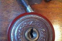 Locks, Keys and Door Knobs / by Kathy Cruz