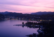 Lugano is much like a kaleidoscope  / Colors in Lugano