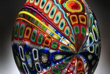 Art Glass / Beautiful and colourful art glass from around the world.