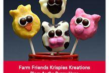 Farm Friends Krispies Kreations