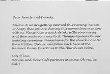 Our wedding / by Danielle Buchanan