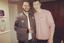 Shawn Mendes Wearing Pink