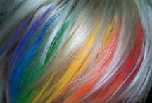 Colorful Hair I Want, But Ain't Got The Guts  To Try It / by Kelly Britton