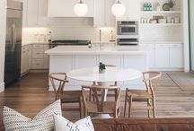 kitchen , living room