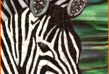 Mosaics animals