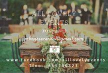 ALL LOVELY EVENTS / Imágenes corporativas, trabajos, eventos, etc...