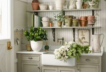 DECORATE LAUNDRY ROOM / by Emily B