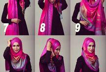 tuturial hijab Pasmina