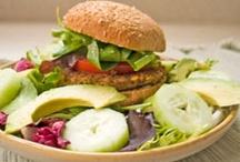 Food - Veggies, Vegetarian, Vegan / Dishes w/o meat - vegetarian and some vegan. / by Teri Rhan