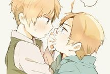Hetalia UsUkUs/LibertTea/Joker / every kind of this ship(aus,2p ecct) usukus is my escape to nightmares :D if I ever repin things it's bc I love pics so much to be repinned again XD