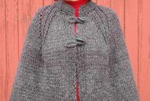 knit crochet cape