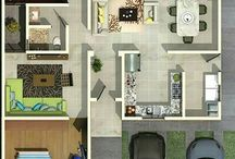 Distribución interior Casa