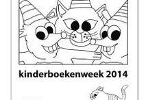 School: Kinderboekenmaand 2014 (in de wolken)
