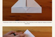 Papier Flugzeuge