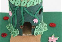 Gnomes & Fairies oh, my / very waldorfy