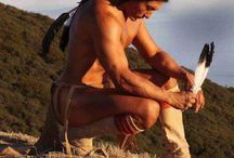 Native American / I love the way they live, I'm always inspired by them.