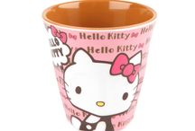 Hello Kitty Cups / Enjoy your drinks the super kawaii &cute way with these #HelloKitty melamine #cups ! (^_^)v