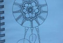Inspired drawings